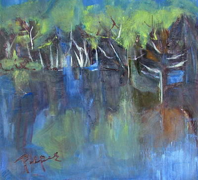 Painting - Tree Imagery by Betty Pieper