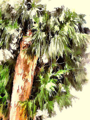 Photograph - Tree In Abstract 9 by Kristalin Davis