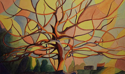 Painting - Tree In Fall by Emily Maynard