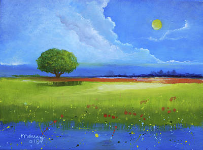 Painting - Tree Landscape by Alicia Maury