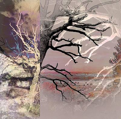 Digital Art - Tree Layers 8 by Dorothy Berry-Lound
