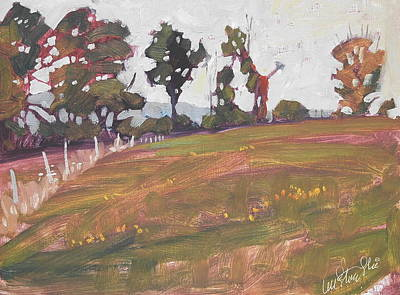 Painting - Tree Line by Len Stomski
