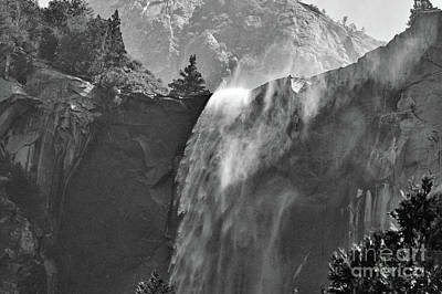 Photograph - Tree Lined Bridalveil Falls Beginning by Debby Pueschel