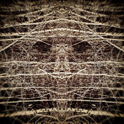 Digital Art - Tree Mask by Wim Lanclus