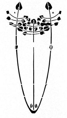 Drawing - Tree Motif, 1902 by Charles Rennie Mackintosh