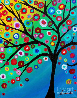 Painting - Tree Of Courage by Pristine Cartera Turkus