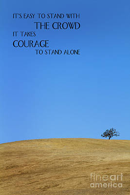 Tree Of Courage Art Print