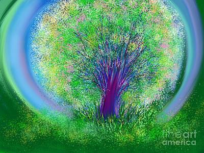 Digital Art - Tree Of Generosity By Jrr by First Star Art