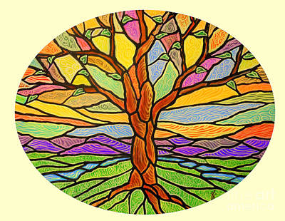 Tree Of Grace 2 Art Print