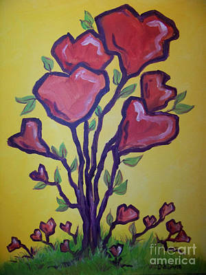 Painting - Tree Of Hearts by Deborah Smith