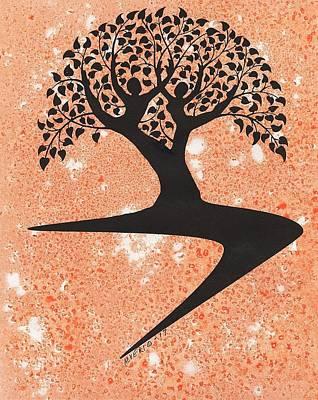 Painting - Tree Of Joy by Edwin Alverio
