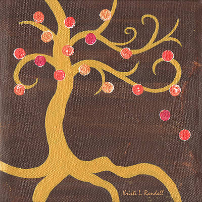 Painting - Tree Of Life - Left by Kristi L Randall