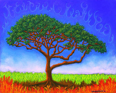 Pastel - Tree Of Life 01 by Michael Heikkinen