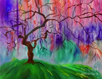 Painting - Tree Of Life 11 by Jenny Lee
