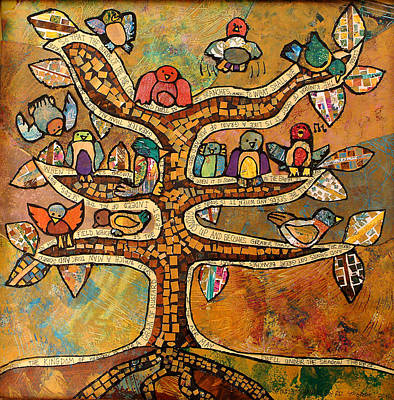 Tree Of Life Original by Carol Cole