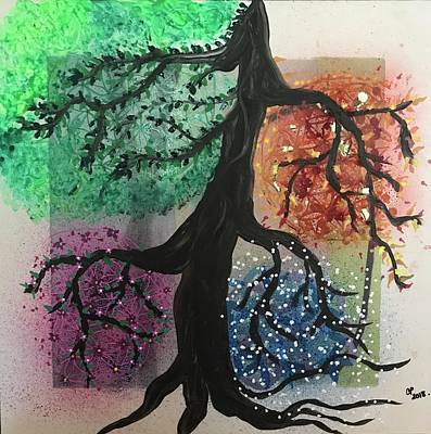 Painting - Tree Of Life by Christine Paris