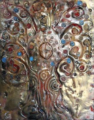 Painting - Tree Of Life by Gitta Brewster