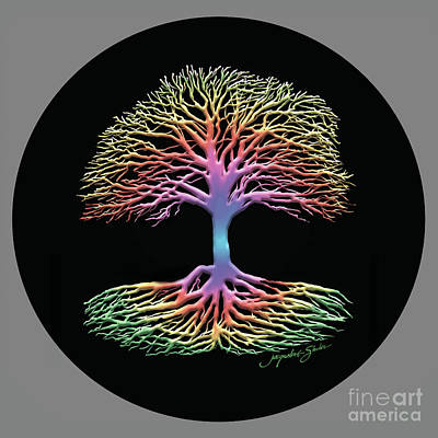 Digital Art - Tree Of Life by Jacqueline Shuler