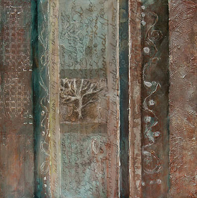 Painting - Tree Of Life by Jillian Goldberg