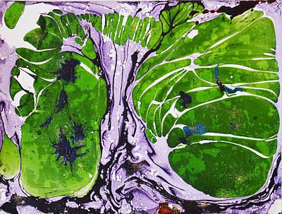 Creative Renewal Mixed Media - Tree Of Life by Marianne Davidow