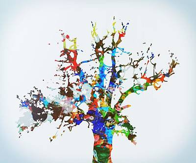Painting - Tree Of Life by Mark Taylor