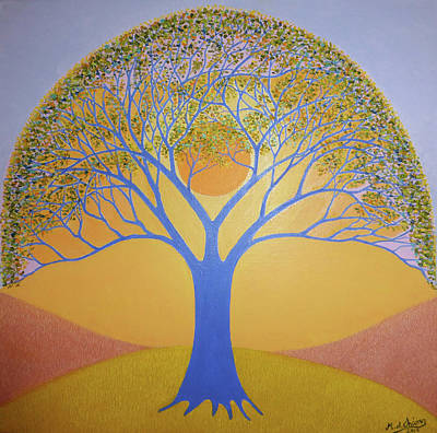 Painting - Tree Of Life by Miguel A Chavez