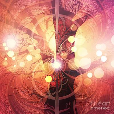 Digital Art - Tree Of Life by Mo T