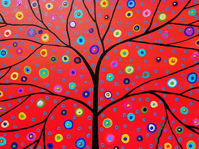 Painting - Tree Of Life Painting by Pristine Cartera Turkus