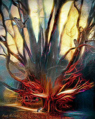 Digital Art - Tree Of Life by Pennie McCracken