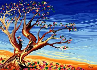 Tree Of Life Art Print by Robin Monroe