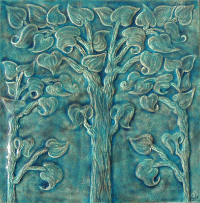 Ceramic Sculpture - Tree Of Life by Shannon Gresham