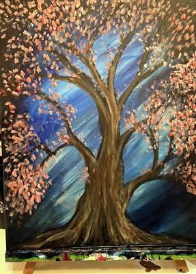 Susana Maria Rosende Painting - Tree Of Life by Susana Maria Rosende