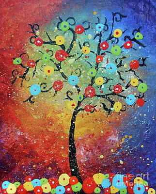 Painting - Tree Of Life by Tamyra Crossley