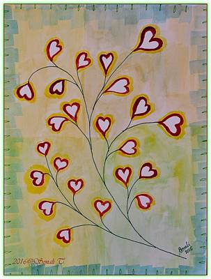 Tagore Painting - Tree Of Love by Sonali Gangane