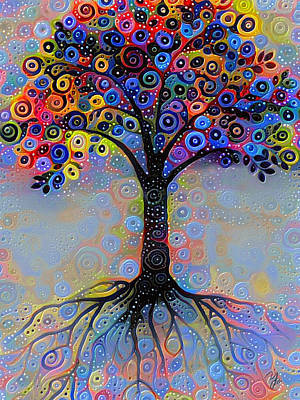 Digital Art - Tree Of Paradise 2 by Yury Malkov
