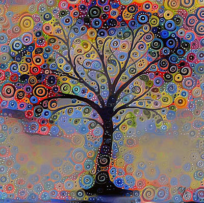 Digital Art - Tree Of Paradise 3 by Yury Malkov