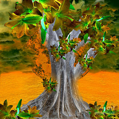 Painting - Tree Of Yesterday by Saundra Myles