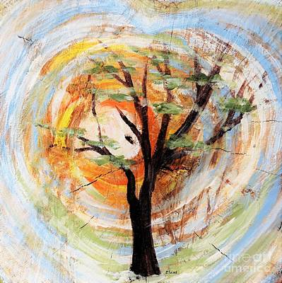 Painting - Tree On Tree by Eloise Schneider