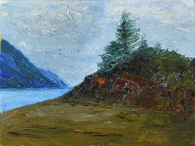 Painting - Tree On Turnagain by Burton Hanna