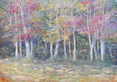 Tree Pageant Art Print by Penny Neimiller