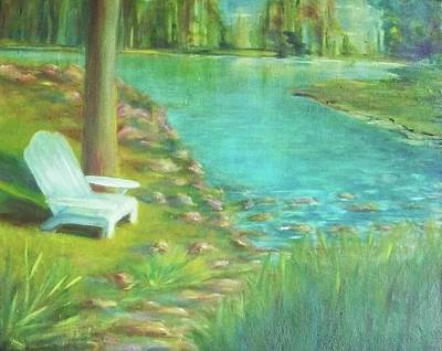 Painting - Tree Planted By The Waters by Dana Redfern