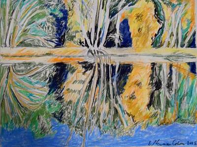 Painting - Tree Reflections by Esther Newman-Cohen