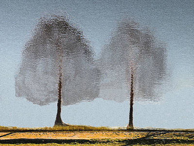 Tree Reflections Art Print