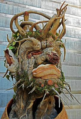Photograph - Tree Sculpture by Ron Kandt