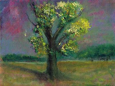 Painting - Tree Shadow by Joe Leahy