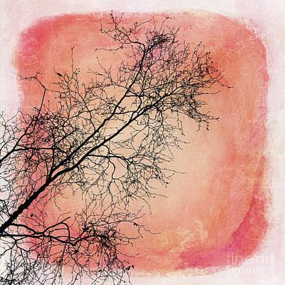 tree silhouettes II Art Print