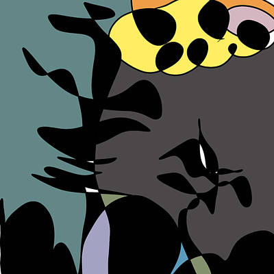 Digital Art - Tree Song by June Krisko