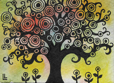 Painting - Tree Song by Lindi Levison
