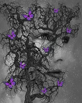 Digital Art - Tree Spirit by Ali Oppy