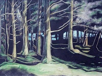 Tree Spirit Art Print by Grace Keown